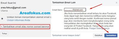 Ganti Nomor FB Menjadi Email