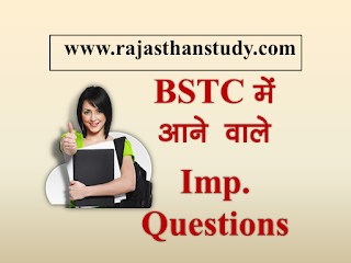 rajasthan-bstc-important-questions