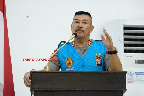 Kapolda Kalteng Pimpin Penandatanganan Pakta Integritas Seleksi Dikbangum Polri 2020