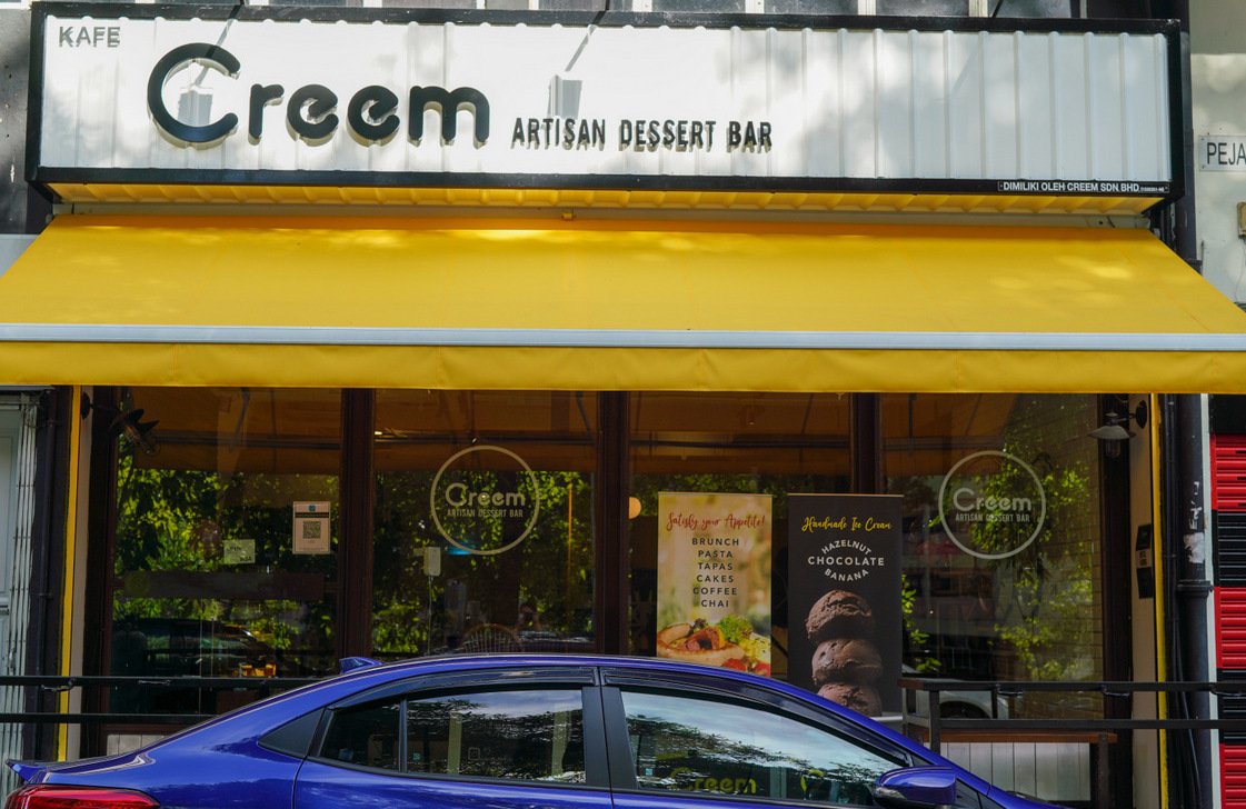 creem artisan dessert bar, petaling jaya
