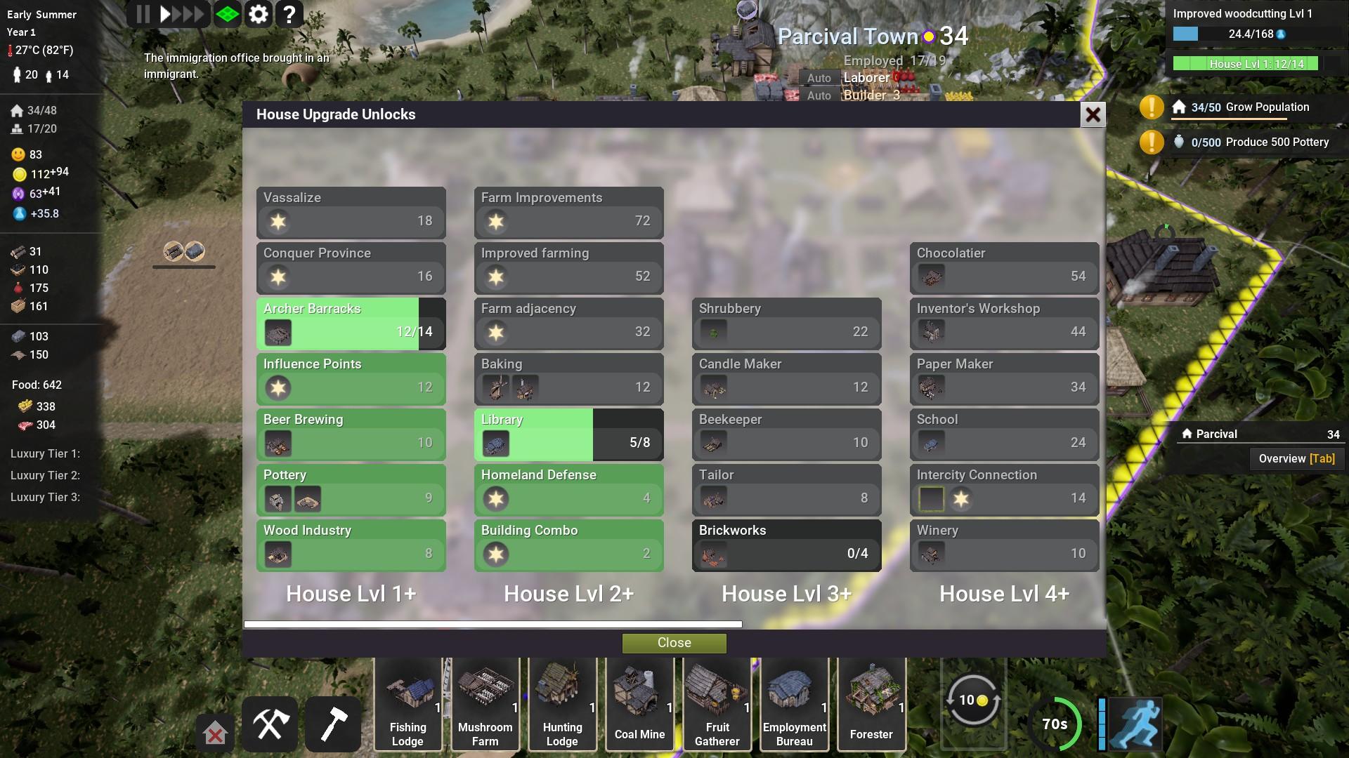 Kingdoms Reborn Housing Rewards