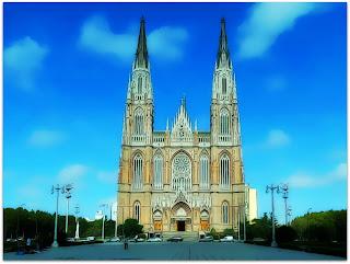 A Catedral Metropolitana de La Plata, Argentina