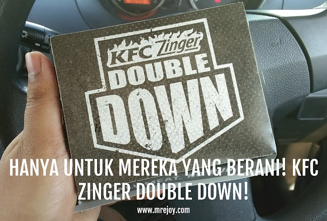 KFC ZINGER DOUBLE DOWN REVIEW