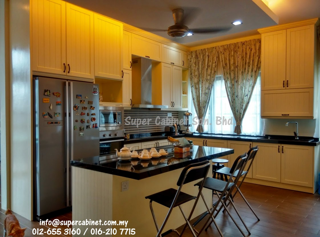 Kitchen cabinet super cabinet sdn bhd for Kitchen cabinets qatar