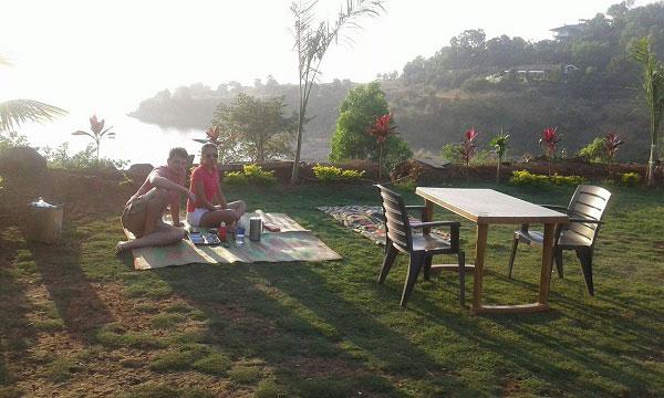 Pawana lake camping