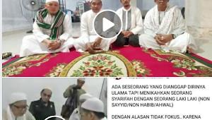 Oknum FPI Kalsel Hujat Ulama Banjarmasin Karena Nikahkan Syarifah dengan Non-Habib