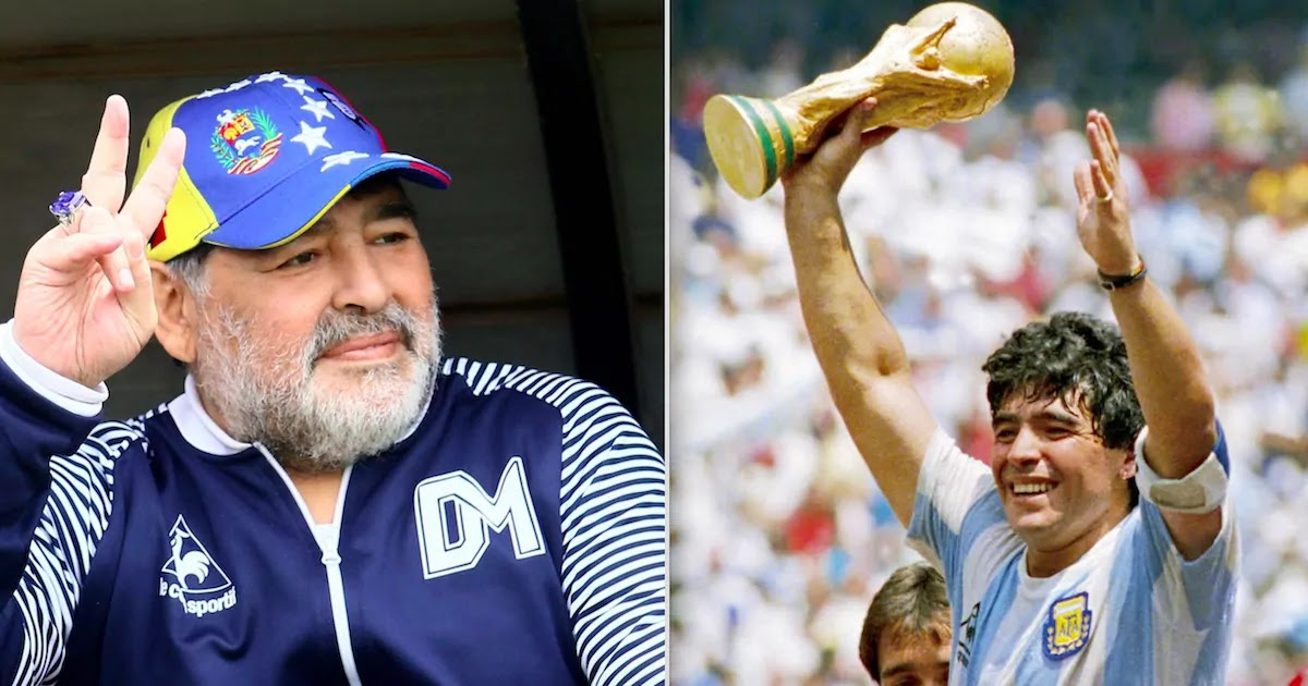 Football Legend Diego Maradona Has Died Aged 60
