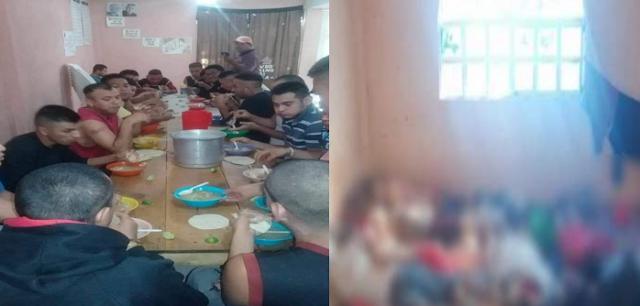 Solo querían otra oportunidad de vivir cuando unos sicarios los mataron, así se sentaban a comer tranquilamente antes de morir en el anexo de Irapuato