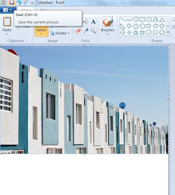 Convert gambar dengan aplikasi paint