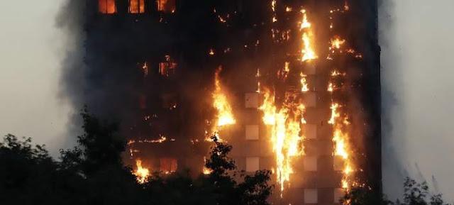 Από ελαττωματικό ψυγείο ξέσπασε η φωτιά στον πύργο Γκρένφελ