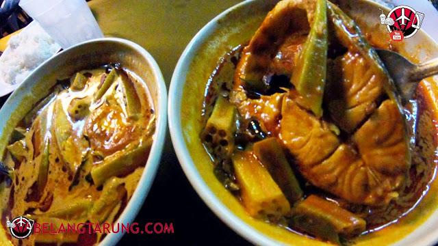 Gulai Ikan Dengan Sayur Bendi dan Tomato