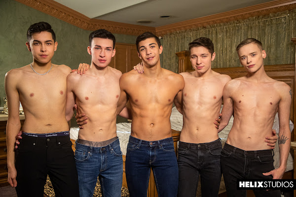#HelixStudios - Quiet On Set: Take Five Jacob Hansen, Alex Riley, Devin Holt, Jordan Lake