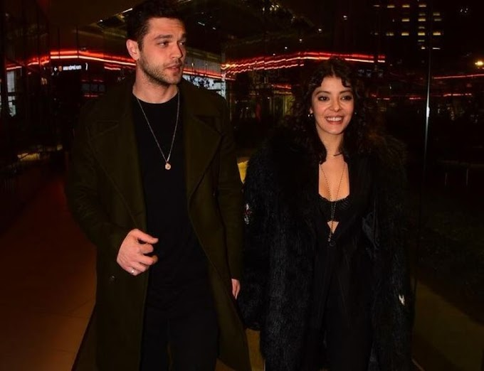 Furkan Andıç and Selin Şekerci reunited