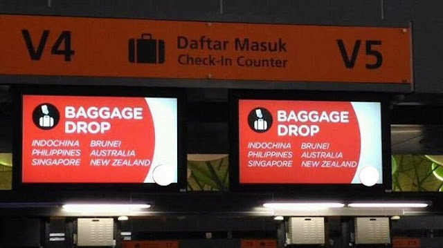 Foto INDOCHINA di Bandara KLIA2 Malaysia