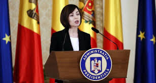 la nouvelle présidente élue pro-européenne Maïa Sandu