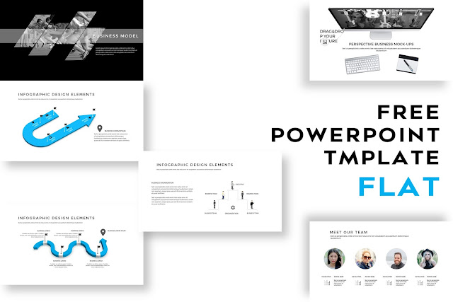 FLAT Multi Purpose PowerPoint Template