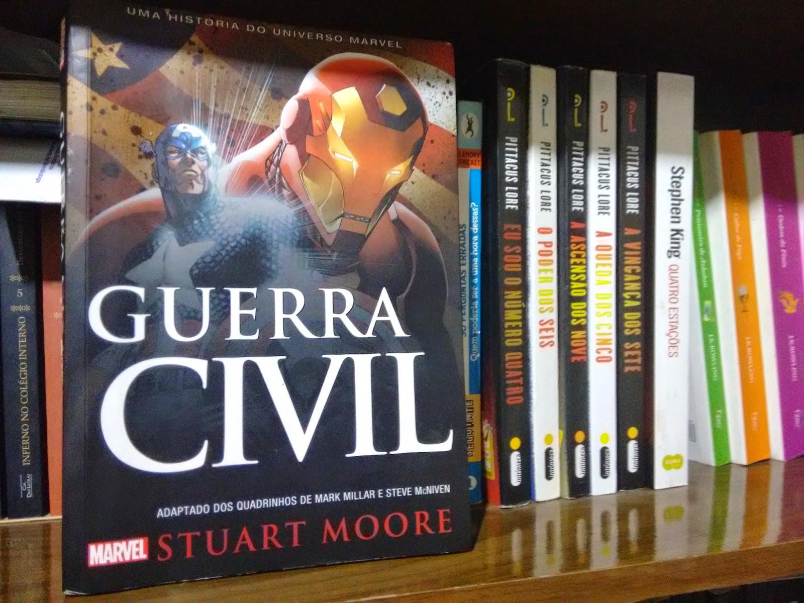 IMG 20150421 234145277 - Marvel: Guerra Civil - Stuart Moore