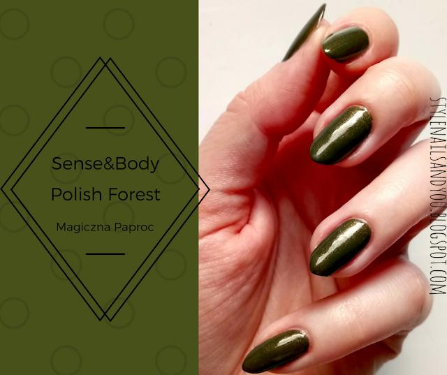 Sense&Body Polish Forest Magiczna Paproć