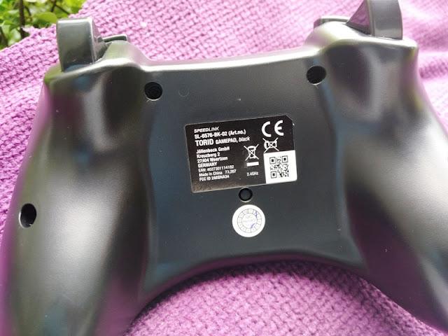 Speedlink TORID PC PS3 Wireless Controller w/ Force Vibration