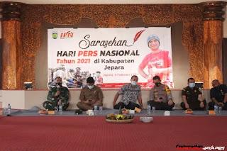 Dandim 0719/Jepara Hadiri Hari Peringatan Pers Nasional HPN