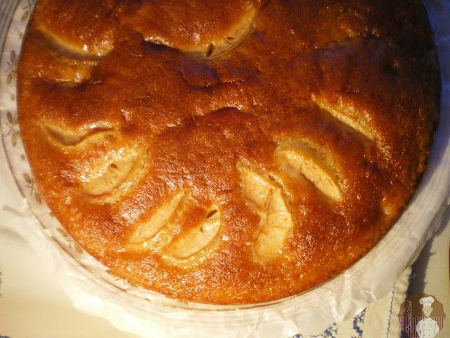 Tarta de manzanas, receta de Doña Cristina