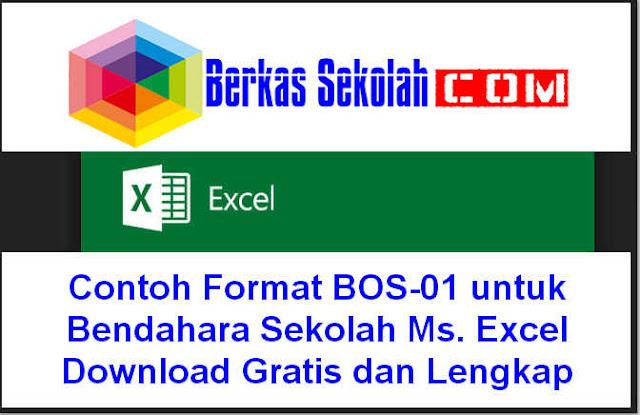 Download Contoh Format BOS-01 untuk Bendahara Sekolah