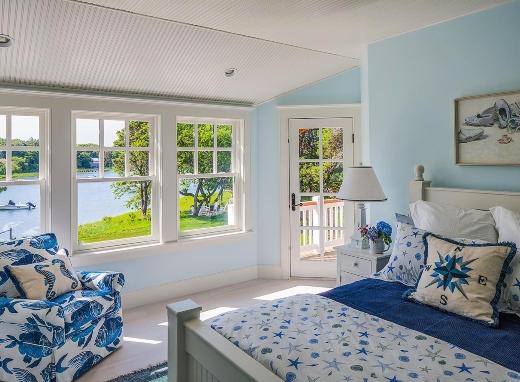 Inspirational Blue Coastal Nautical Bedroom Ideas