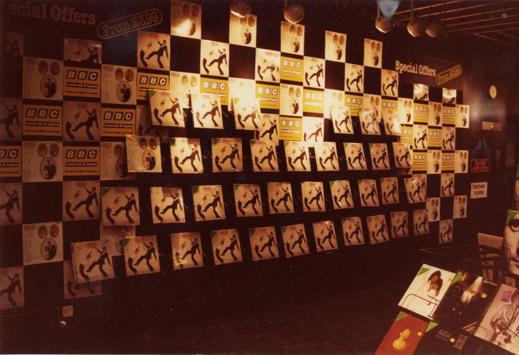 Old record shop p*rn HMV-store-1980s-3
