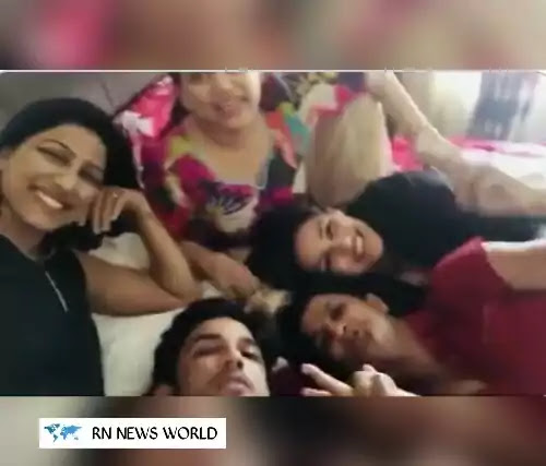 Sushant-Singh-Rajput-sister-Shweta-Singh-shares-old-video-with-all-Sisters