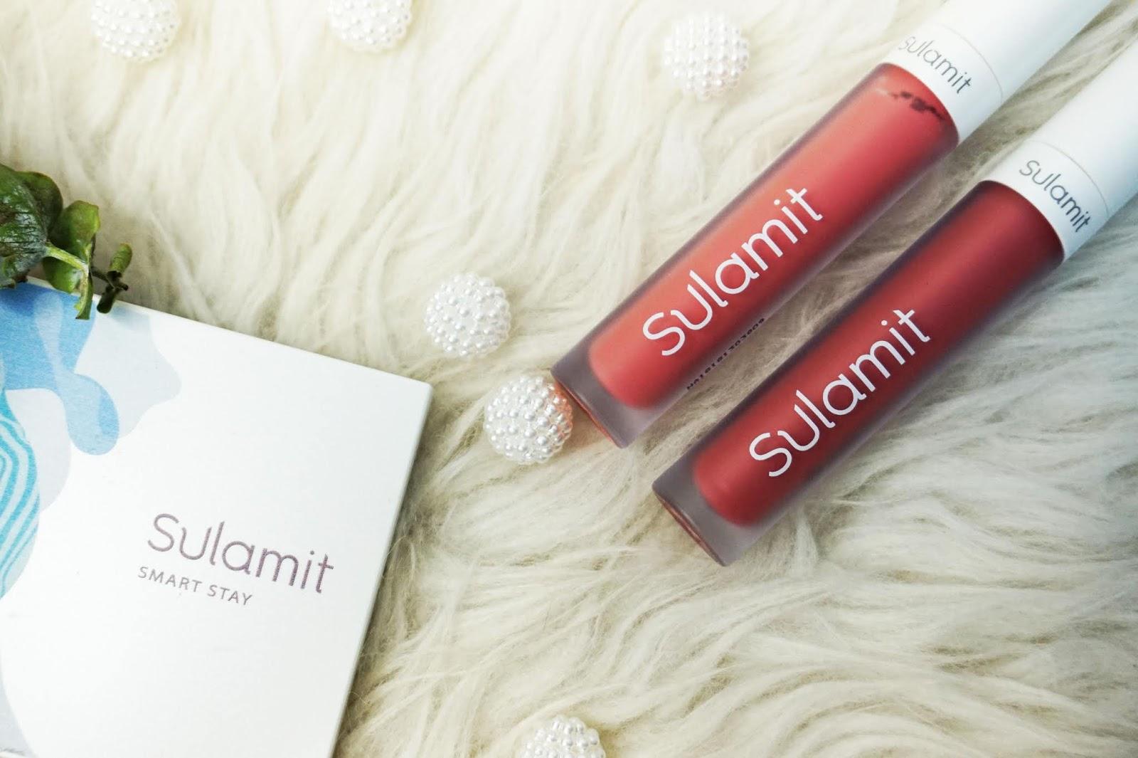 Sulamit Smart Stay Matte Finish Lip Paint Stay Bright