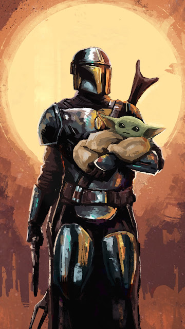 The Mandalorian Background Wallpapers Cool Wallpapers Heroscreen Cc