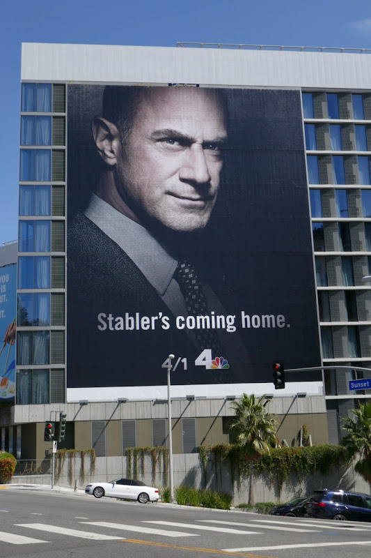 Stablers Coming Home Law  Order Organized Crime billboard