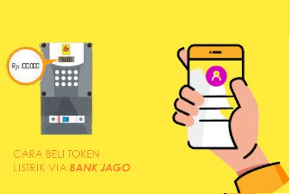 Cara Beli Token Listrik di Aplikasi Bank Jago