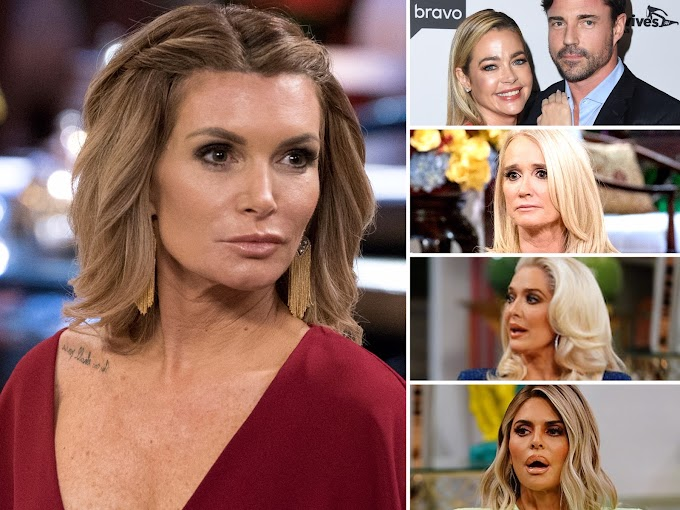 Eden Sassoon Shows Her Support To Denise Richards And Husband Aaron Phypers After Last Night's Episode Of RHOBH And Throws Major Shade At Former Co-Stars In Particular Erika Girardi, Dorit Kemsley, Kim Richards And Lisa Rinna!