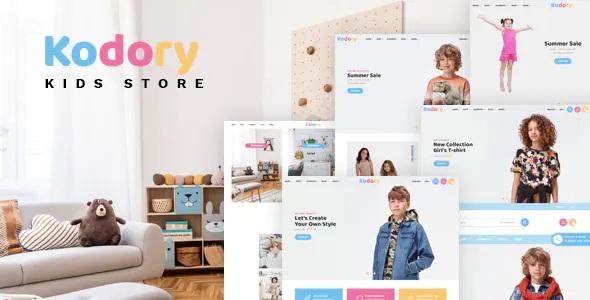 Best Kids Store HTML Template