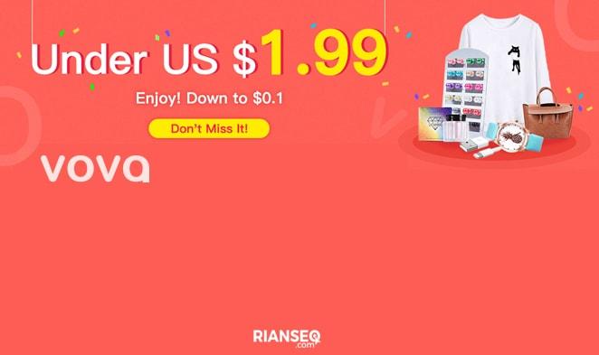 Cara Belanja Online di Vova Indonesia dengan Harga Hanya $ 0.02