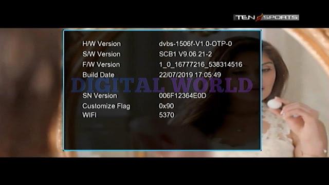 ECHOLINK HD RECEIVER 1506F-512-4M-SCB1-V9.06.21 NEW SOFTWARE