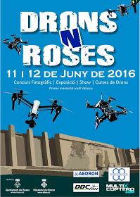 Un auténtico #drone fin de semana en Roses: Festival Drons'N'Roses