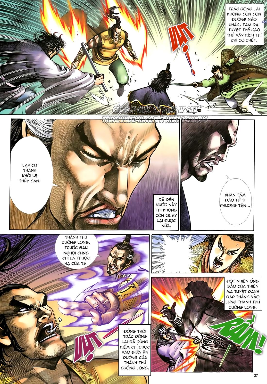 Anh hùng vô lệ Chap 23 trang 28