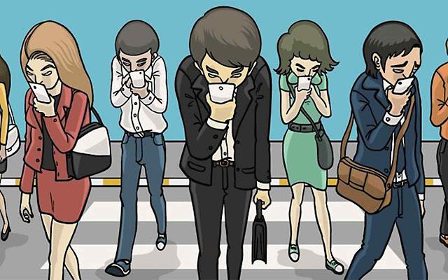 A adição ao smartphone produz jovens incapazes dee se relacionarem socialmente