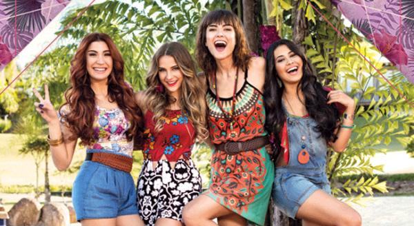 95b74a73ff As 4 garotas escolhidas pra campanha da Dakota na campanha de Verão 2017.  Da esquerda pra direita  a youtuber Boca Rosa (ou Bianca Andrade)