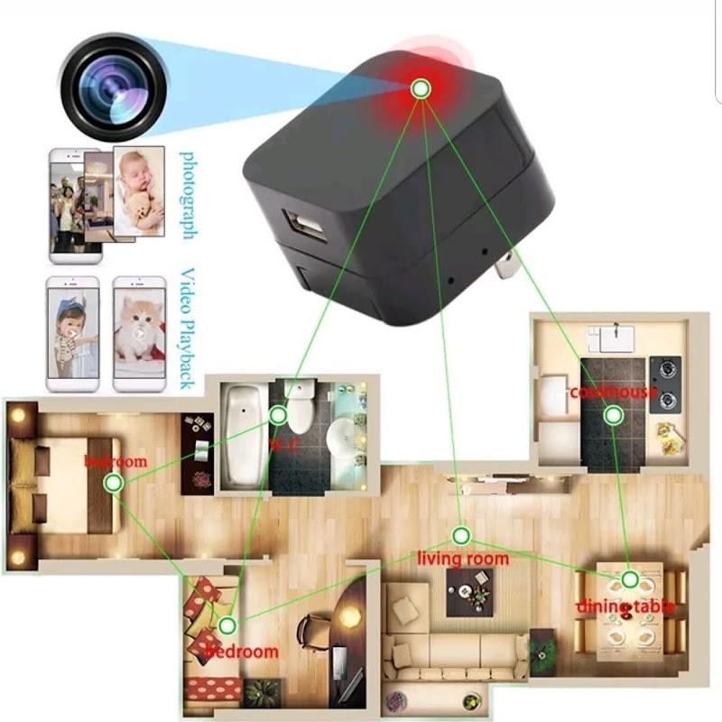 Spy Hidden USB WiFi Camera 50% off