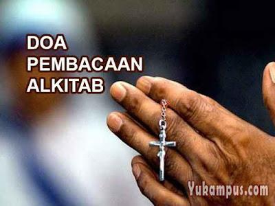 doa pembacaan alkitab firman tuhan