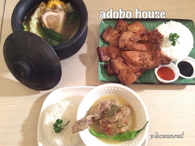 Adobo House- Batangas Bulalo, Pork Chop Duo, Adobo sa Gata