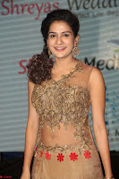 Jenny in brown transparent sleeveless anarkali dress at Shamanthakamani pre release function ~  Exclusive 031.JPG