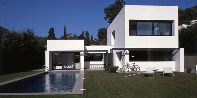 Construindo minha casa clean fachadas com esquadrias de - Estilos de casas modernas ...