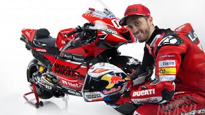 Manajer Beberkan Kondisi Andrea Dovizioso Yang Akan Tampil Di Sirkuit Jerez