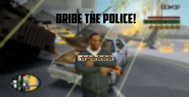 GTA San Andreas Bribe The Police Like In GTA 5 Online 2021