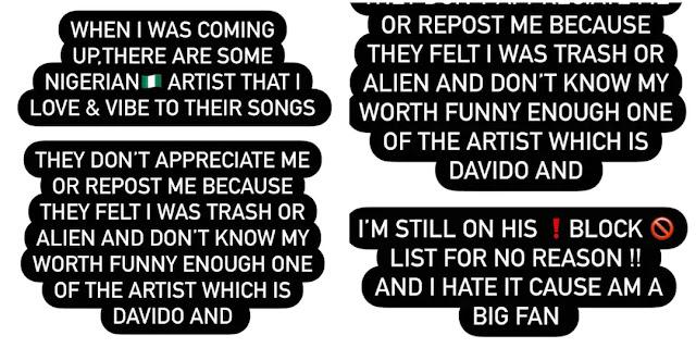 Davido blocked me for no reason- Crossdresser James Brown laments