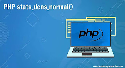 PHP stats_dens_normal() Function